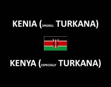 Kenya (especially Turkana)