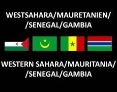 Westsahara/Mauretanien/Senegal/Gambia